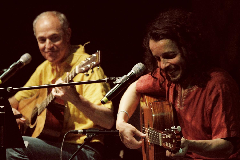 Rubén Olivera y Ernesto Díaz