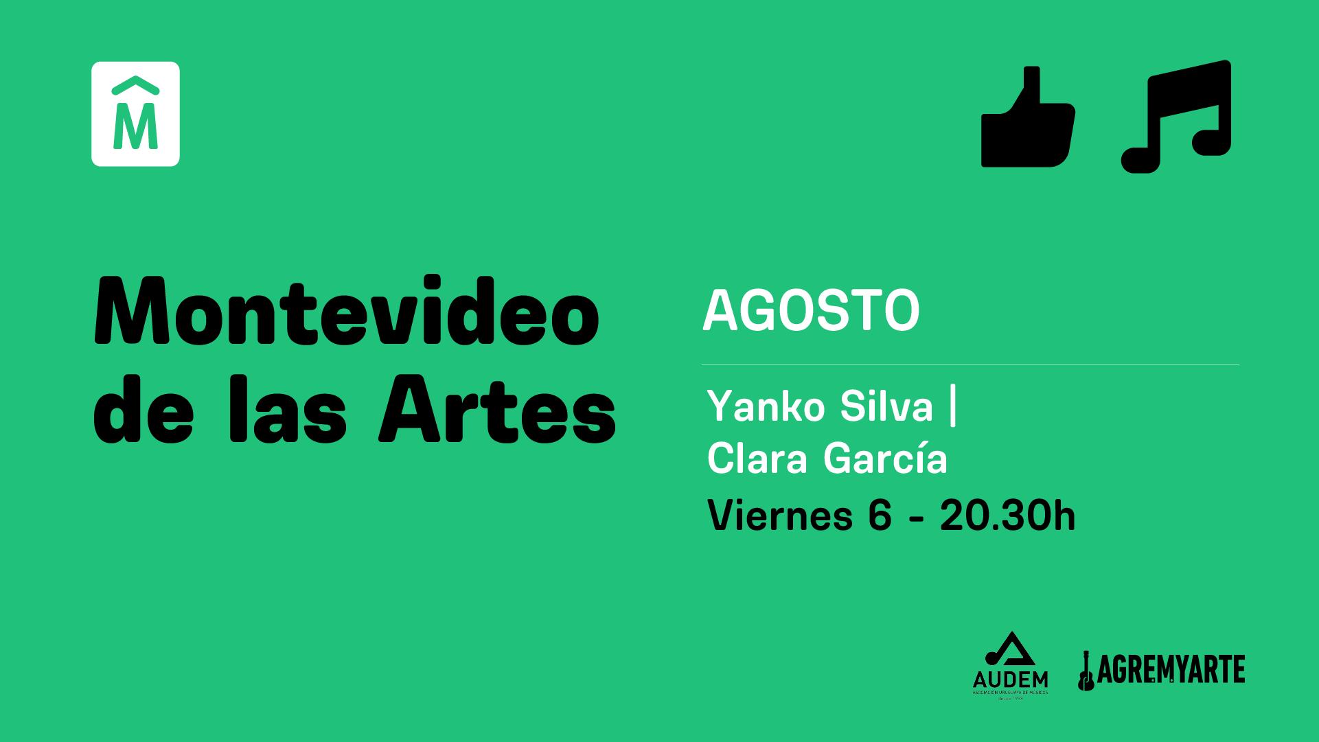 Yanko Silva, Clara García – MVD de las Artes