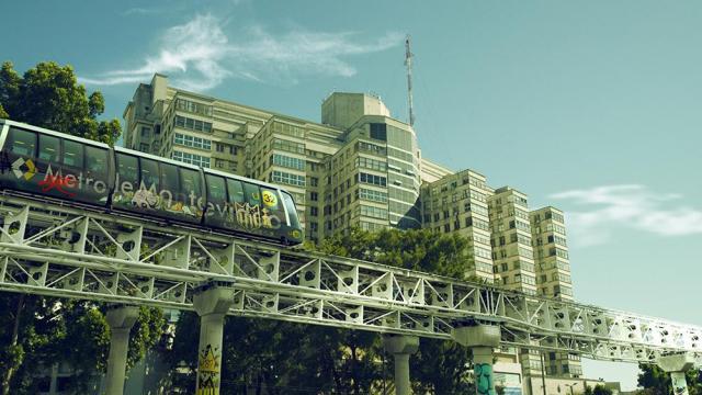 Metro de Montevideo, la serie